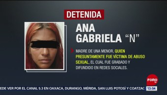FOTO: Mujer que abusó de su hija fue ingresada a prisión en Edomex, 3 marzo 2019
