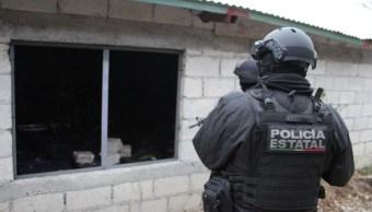 Foto: Aseguran narcolaboratorio en Veracruz, 22 de marzo 2019. Twitter @SP_Veracruz