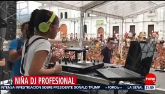Foto: Niña DJ Fiesta Colombia 4 de Marzo 2019