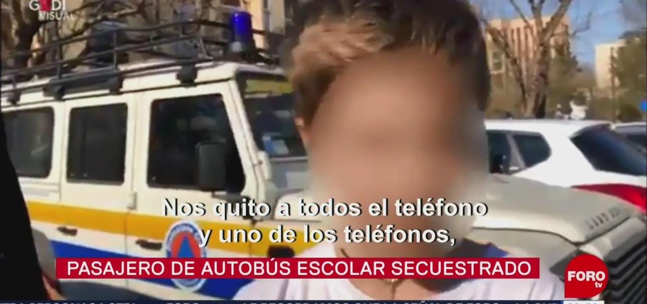 Foto: Niño Secuestro Autobús Milan Italia 20 de Marzo 2019