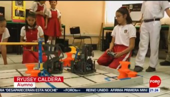Foto: Niños Chiapas Fuera Mundial Robótica 20 de Marzo 2019