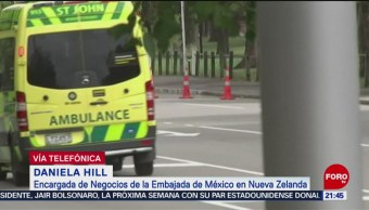 Foto: Mexicanos Heridos Muertos Tiroteo Nueva Zelanda 14 de Marzo 2019