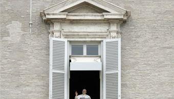 fOTO:Papa Francisco en el rezo del Ángelus de este primer domingo de Cuaresma, 10 marzo 2019