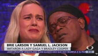 Parodian presentación de Bradley Cooper y Lady Gaga en los Oscar