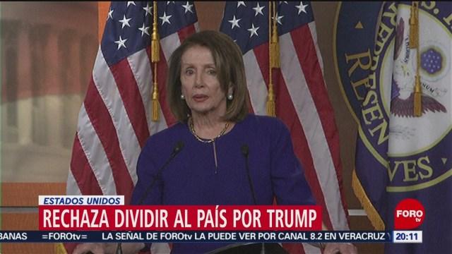 Foto: Nancy Pelosi Juicio Político Donald Trump 11 de Marzo 2019