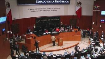 Foto: Penalización Aborto Nuevo León Tensión Senado 7 de Marzo 2019