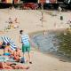 Foto: Personas en una playa de Finlandia, 19 de julio de 2018, Finlandia