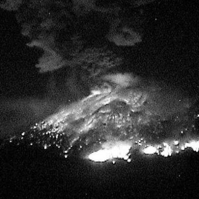 Emiten recomendaciones ante incremento de actividad del Popocatépetl