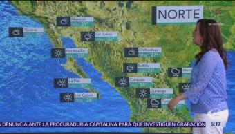 Pronostican chubascos y tormentas en noreste, oriente y sureste de México
