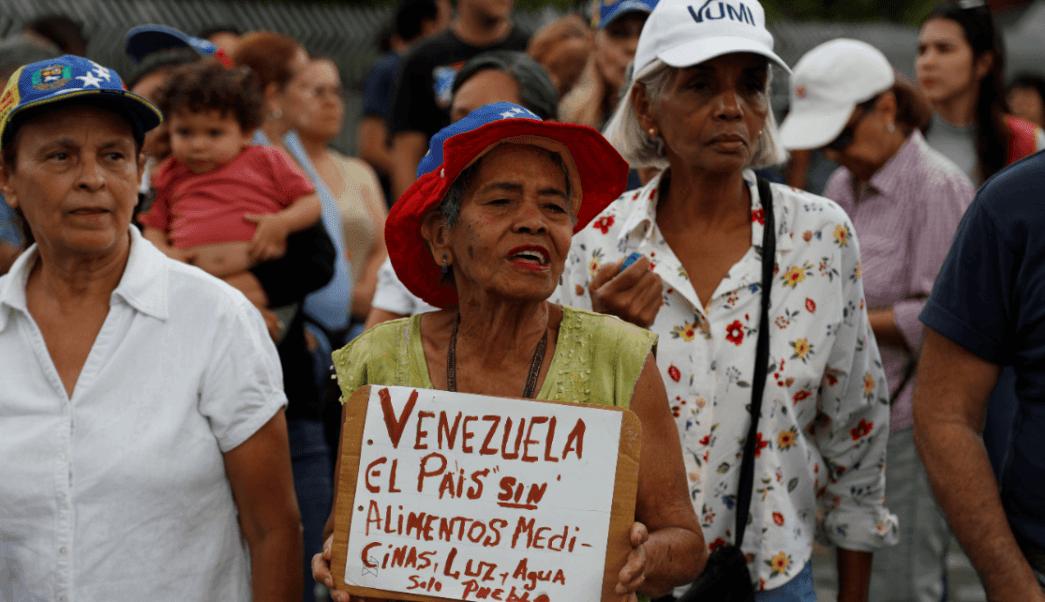Foto: Protestas contra Nicolás Maduro en Venezuela, 12 de marzo de 2019, Caracas