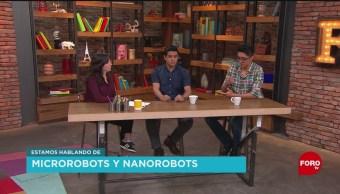 FOTO: Qué tanto trabaja México para desarrollar microrobots y nanorobots, 16 marzo 2019