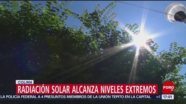 FOTO: Radiación solar alcanza niveles altos en Colima, 2 marzo 2019