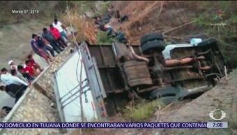 Reciben en Guatemala cuerpos de migrantes muertos en Chiapas