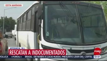 Foto: Rescatan a migrantes indocumentados en Nuevo León