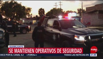 FOTO: Retiran vehículos quemados por delincuentes en Guanajuato, 10 marzo 2019