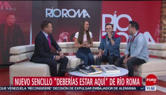 'Río Roma' presenta su nuevo sencillo en 'Por las Mañanas'
