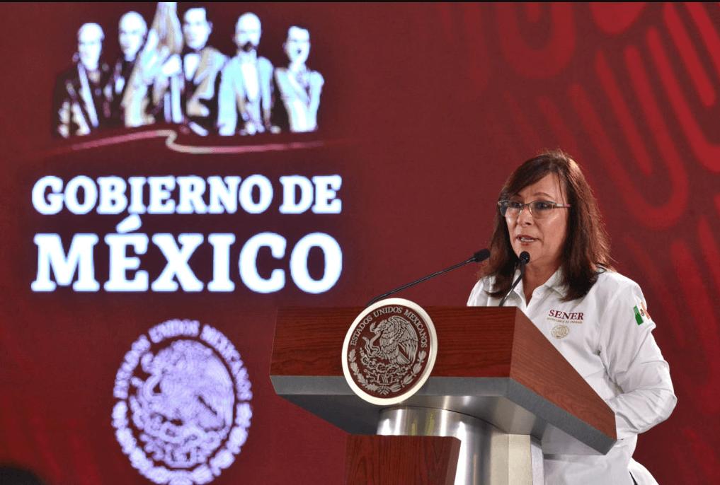 Foto: Rocío Nahle, secretaria de Energía, 18 de marzo de 2019, México