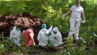 hallan 18 cadaveres en fosas clandestinas en mazatlan