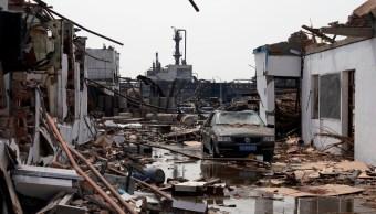 suman 64 muertos por explosion en china hay 28 desaparecidos
