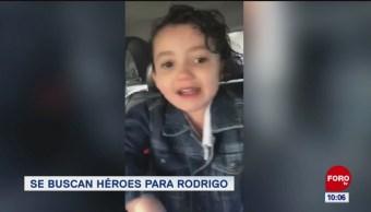 Se buscan héroes para Rodrigo