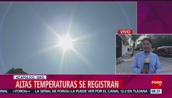 FOTO: Se registran altas temperaturas en sur del país, 2 marzo 2019