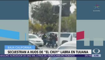 Secuestran a hijos de 'El Chuy' Labra en Tijuana