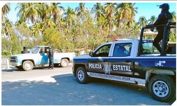 Foto: Operativo de seguridad en Guerrero. 23 de marzo 2019. Twitter @SSPGro