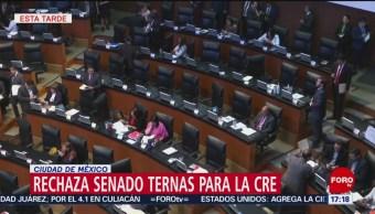 Foto: Senado rechaza ternas para ocupar cargos en la CRE