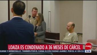 FOTO: Sentencian a Esteban Loaiza a tres años de cárcel por posesión de cocaína, 8 MARZO 2019