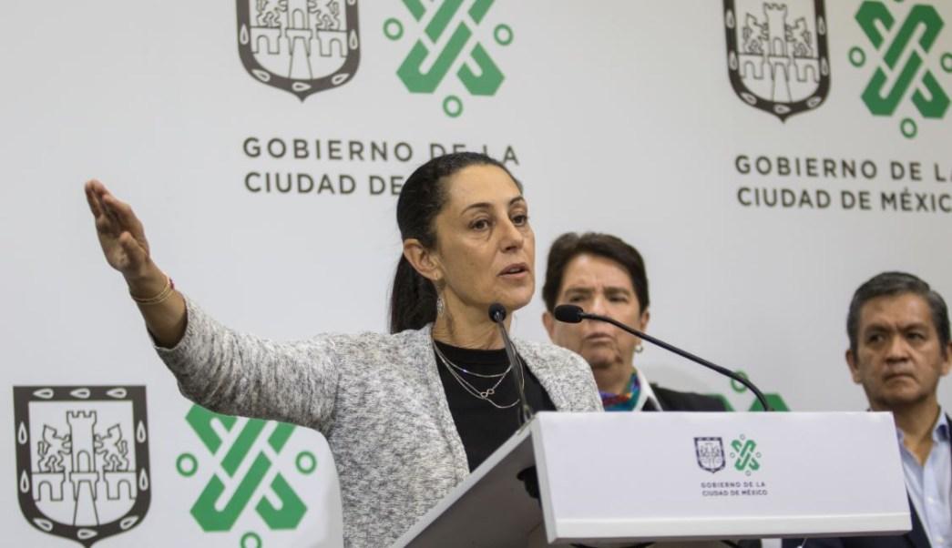 Foto: La Jefa de Gobierno, Claudia Sheinbaum, anuncia que se revisará el programa Hoy No Circula, el 2 de marzo de 2019 (Cuartoscuro)