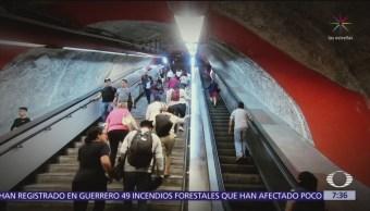 Sigue suspendido servicio de escaleras eléctricas en Metro CDMX
