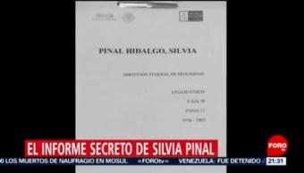 Foto: Silvia Pinal Investigada Gobierno Archivo Secreto 21 de Marzo 2019