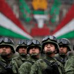 Foto: Soldados en México, 16 de septiembre de 2016, Ciudad de México