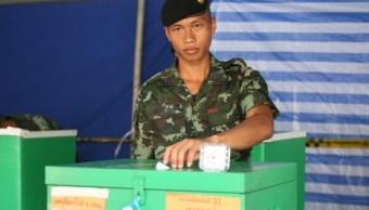 Foto: Un partido respaldado por militares aventaja en las elecciones de Tailandia, el primer ministro Prayuth Chan-ocha podría mantenerse en el poder, marzo 24 de 2019 (AP)