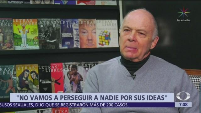 Tatiana Clouthier acusa a Enrique Krauze de operar contra AMLO