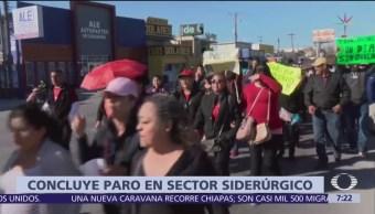 Foto: Termina paro laboral en maquiladoras de Matamoros, Tamaulipas