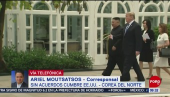 FOTO: Termina sin acuerdos cumbre EU-Corea del Norte, 2 marzo 2019