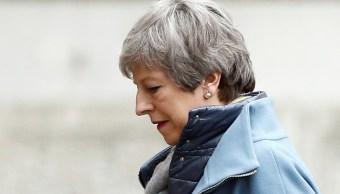 Once ministros conspiran para dimisión de May, según 'The Sunday Times'