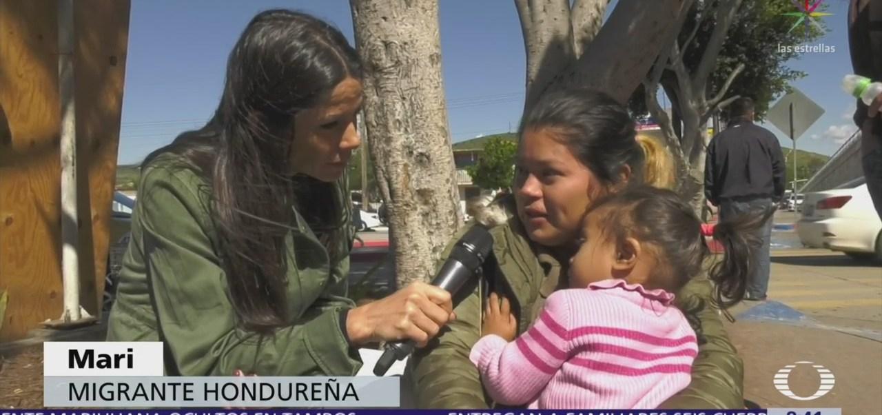 Travesía de migrantes hondureños en su paso por México hacia EU