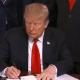 Foto: Trump firma decreto que reconoce la soberanía israelí sobre los Altos del Golán, 25 de marzo de 2019, Washington