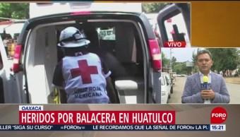 FOTO:Una balacera en Huatulco causa 7 heridos, 23 Marzo 2019