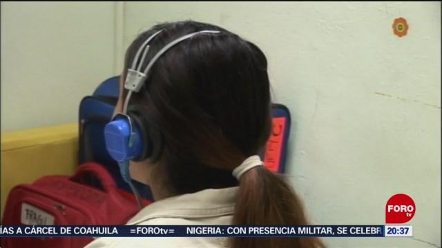 FOTO: Uso prolongado de audífonos provoca sordera, 9 marzo 2019