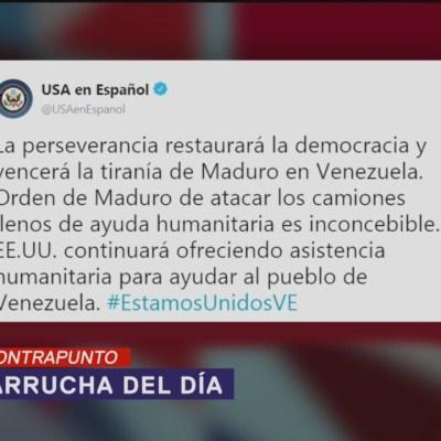 Venezuela, la ayuda y la paparrucha del día