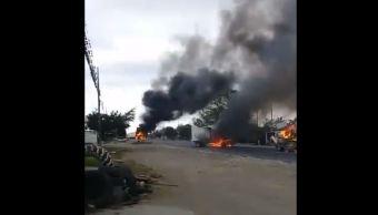 FotoViolencia en Veracruz, reacción delincuencia ante operativos 18 marzo 2019