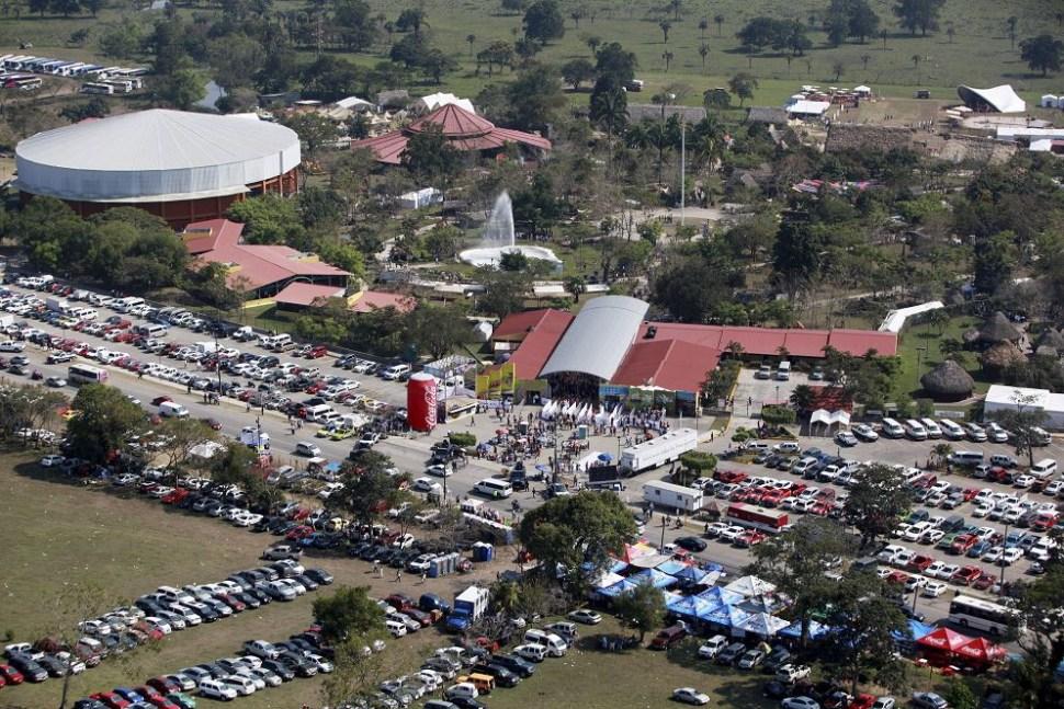 foto vista aerea parque Takilhsukut cumbre tajin cuartoscuro