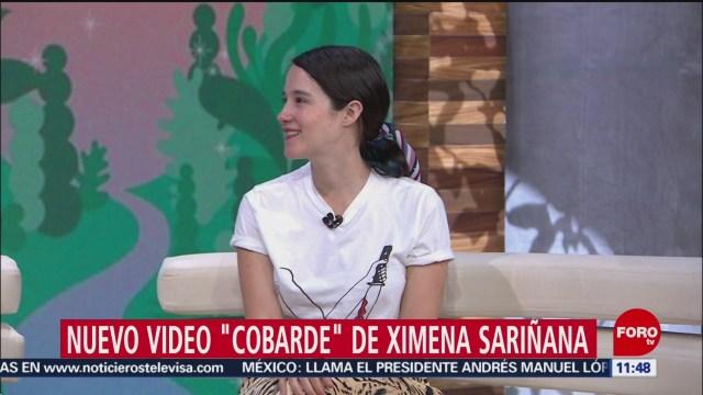 Foto: Ximena Sariñana presenta su nuevo video 'Cobarde'