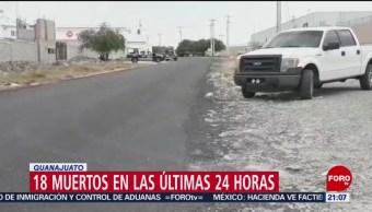 FOTO: 18 muertos en las últimas 24 horas en Guanajuato, 6 de abril 2019