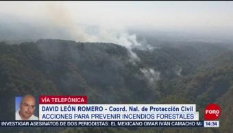 Foto: 46 incendios activos en 15 entidades del país