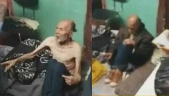 Foto Pareja de abuelitos son encontrados encerrados y desnutridos 8 abril 2019