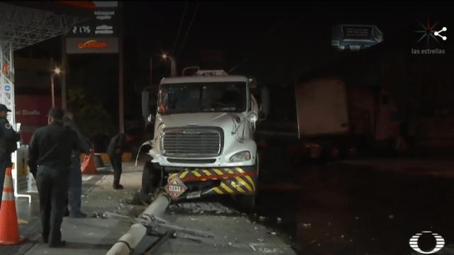 Foto: Accidente múltiple en la Ciudad de México, 9 de abril de 2019, México